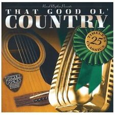 "THAT GOOD OL' COUNTRY, CD ""25 TIMELESS CLASSICS"" NEW SEALED"