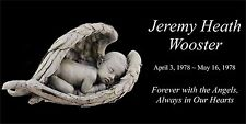 Personalized Pet Human Memorial Engraved Headstone and stand Dog Cat Horse Angel