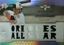 "2014 Topps Triple Threads Adam Jones GU Jersey ""ORIOLES ALL STAR"" Relic /36"
