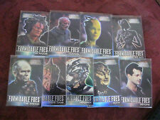 SKYBOX STAR TREK VOYAGER FORMIDABLE FOES 9 CARD CHASE SET F1 - F9 MINT