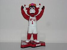 BENNY THE BULL Chicago Bulls Mascot Bobble Head 2013 Pennant Base Edition New*