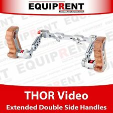 THOR Video Extended Double Side Handles / Rig Griffe für 15mm / 19mm Rods EQT12