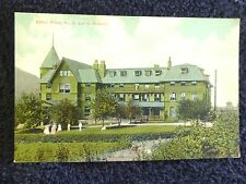 Early 1900's The C. and O. Hospital in Clifton Forge, VA Virginia PC