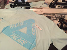 PALACE SKATEBOARDS SS16 SMALL CHILL BLUE CLASSIC TRI FERG FLOCKA TEE T-SHIRT S P