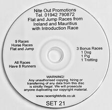 Race Night New Compilation DVDs 9 Races or More Per DVD Cheapest on eBay
