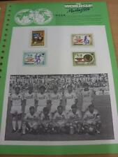 circa 1986 World Cup Mexico,  4 USSR Stamps, Taken From the World Cup Masterfile
