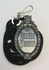WDI Haunted Mansion Badge Bolo Lanyard Cast Exclusive