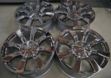 "4 NEW GMC Denali Yukon Sierra Chrome 22"" Wheels Rims CK375 Cadillac Escalade"