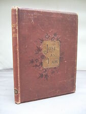 Just As I Am by Charlotte Elliott - Poetry - Religion - Illustrated HB