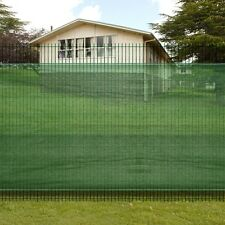"Patio 3' 3"" x 32' 8"" Fence Windscreen-Privacy Mesh Screen/Net-Green Outdoor"