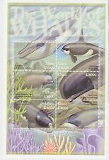 Ghana - Whales, 2001 - Sc 2256 Sheetlet of 6 MNH