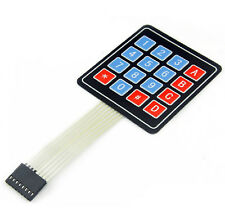 Neu 16 Key Membrane Switch Schalter Keypad Keyboard Tastatur 4x4 Matrix Array DE