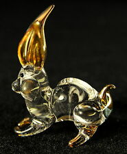 Chinese zodiac Hand Blown Glass Lucky Figuines