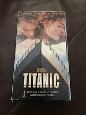 Titanic VHS Video Two Cassettes