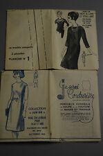 """"""" MODES & TRAVAUX """" PATRON OCT 1963 + PATRON ENFANT A10"""