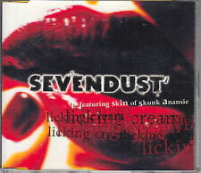Sevendust ( SKIN FROM SKUNK ANANSIE )  CD-SINGLE LICKING CREAM + INFO BLATT
