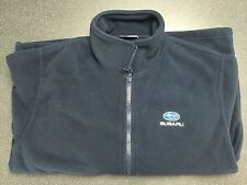 Genuine Subaru Fleece Jacket LARGE