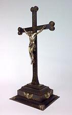 Kreuz mit Corpus Christi Eisen Silber um 1800