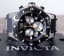 Invicta Speedway Men Chronograph Stainless Steel 51mm 22235 Black Silicone Watch