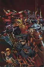 FEAR ITSELF #7 VARIANT Embossed Glossy Euro Lucca Exclusive Marvel NM