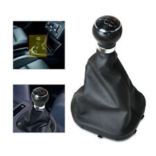 5 SPEED GEAR SHIFT KNOB GAITOR BOOT for VW MK2 2004-09 CADDY II 2 TOURAN 2003-11