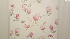 Rose & Cream pequeña flor Trail Floral temas Wallpaper