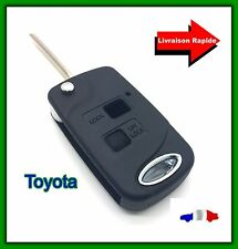 Kit Transformation Coque Clé Plip Pliable Toyota Avensis, Corola, Verso + LAME