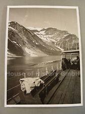 4929 Großfoto vom Zerstörer Z 30 der Kriegsmarine Typ 36 A, Norwegen, Fjorde