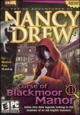 Nancy Drew: Curse of Blackmoor Manor (PC, CD-ROM) Usually ships in 12 hours!!!