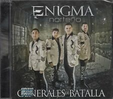 Enigma Norteno Generales De Batalla CD New Nuevo Sealed