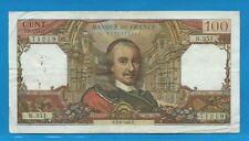 100 FRANCS CORNEILLE du 5-9-1968  B.351