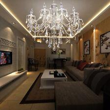 lampadario cristallo luce soffitto 10 Arm Lampada a sospensione Apparecchi