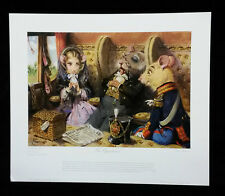 """""""The Opportunist"""" by Terence Cuneo,Print"""