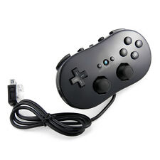 Classic ABS Controller Joypad Gamepad for Nintendo Wii Black Console