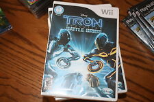 Disney Tron Evolution: Battle Grids (Wii, 2010) Brand New