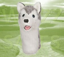 Husky by Daphne's Large Novelty Golf Club Driver 1 Wood Headcover 460cc Head