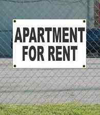 2x3 APARTMENT FOR RENT Black & White Banner Sign NEW Discount Size & Price