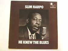 Slim Harpo He Knew The Blues LP Blue Horizon 763854 VG+ 1970 sleeve only - NO RE