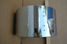 """DW HAND-CRAFTED PERFORMANCE SERIES 14"""" SNARE DRUM SHELL in CHROME!!! C810"""