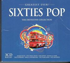 (FD464B) Greatest Ever! Sixties Anthems, 60 tracks various artists - 3CDs - 2013