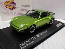 Minichamps CA04316027 # Porsche 911 (930) Turbo 3.0 in vipergrün-diamant 1:43