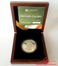 Ireland Irland 2012 0.925 Silver Silber Proof 10 Euro Coin Michael Collins boxed