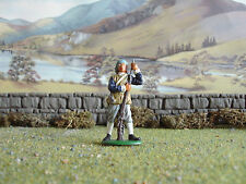 Call to arms Parliament musketeer loading 1:32 painted