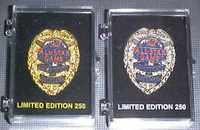 2013 ALL STAR GAME LIMITED EDITION GOLD OR SILVER POLICE BADGE PIN