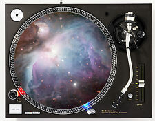 DJ INDUSTRIES - ORION NEBULA - DJ SLIPMATS (1 PAIR) 1200's or any turntable