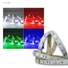 1m Flexibler LED Streifen 30 SMD LEDs RGB STRIP 12V DMX
