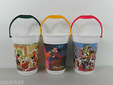 Vintage Disney Popcorn Buckets Collection Fantasia Tune Toons Marching Band 8""