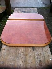 motorhome  two parts table top