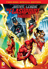 JUSTICE LEAGUE FLASHPOINT PARADOX (DVD, 2013, 2-Disc Set, Special  NEW