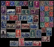 L'ANNEE 1938 Complète, Oblitérés= Cote 301 € / Lot Timbres France